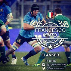 RWC2015 Segui Francesco Minto #Rugby #Flanker