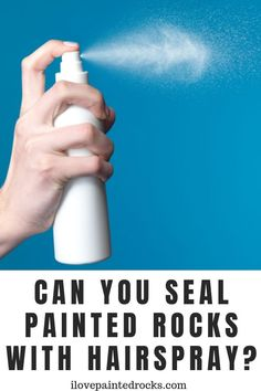 Is hairspray a good way to seal painted rocks? If you have rock paintings that need to be sealed, be sure to read this guide to sealing rocks before you grab your hairspray bottle. Rock Painting Supplies, Rock Painting Ideas Easy, Types Of Painting, Painting Tips, Dot Painting, Pebble Painting, Stone Painting, Rock Hunting, Washable Paint