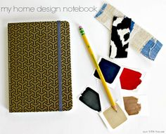 diy design tip: create a my home design notebook/  I have had one for years!!!  Just remember to keep it with you and update information as needed.