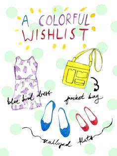 Colorful-wishlist
