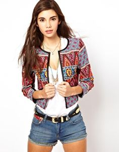 ASOS Jacket in Habernera Print