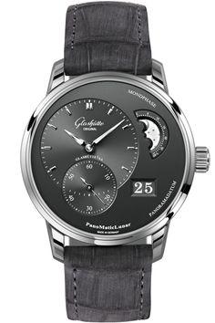 PanoMaticLunar Glashutte Original, Gents Watches, Cool Watches, Watches For  Men, Fine Watches cd24199e954f