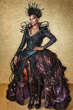 Exclusive First Look: Mary J. Blige as The Wiz Live's Wicked Witch of the West | Vanity Fair