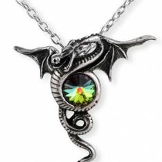 The Dragon of Eternity sustains the faceted chalcedony crystal of life.