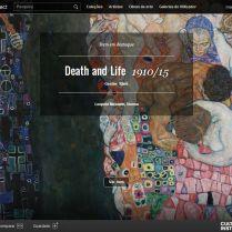 Google Art Project Klimt   Save it for a rainy day   High-tech girl