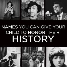 37 Names You Can Give Your Child To Honor Their History