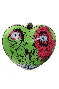 Zombie hardshell clutch! I love the pattern... Iron Fist makes the best zombies!