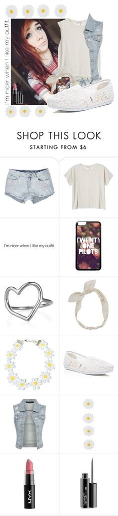 """""""I'm Nicer When I Like My Outfit (Please read the Desc!)"""" by temper61 ❤ liked on Polyvore featuring Monki, Chupi, Carole, TOMS, Monsoon and MAC Cosmetics"""
