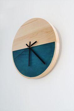 DIY Color Block Clock   Almost Makes Perfect