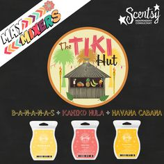 May Mixers ~ The Tiki Hut www.lynnebiniker.scentsy.us
