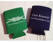"""""""Get Knotty"""" - Knot Belt Co. Koozie"""