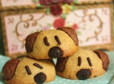Cherry on a Cake: DOGGIE COOKIES FOR HUMANS