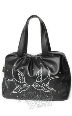 5fb066790c Retro Glam - Lux De Ville Sparkle Me Bowler Bag in Sparrows New Handbags