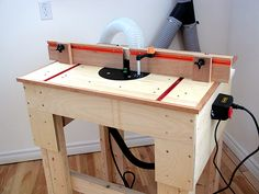 Router table plan, how to build a router table by WoodSkills