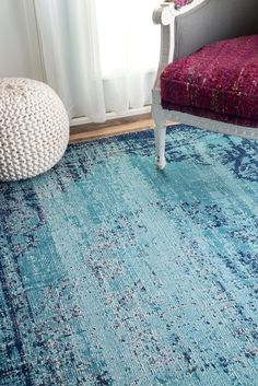 Our Seasoned collection is flat woven and then beautifully distressed to mimic a piece that has been worn through the ages. This is an integral part of the design and is not considered a manufacturing defect.