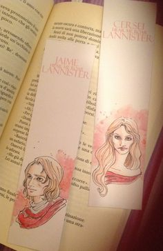 A Song of Ice and Fire // Jaime and Cersei by rosariabattiloro, $8.50
