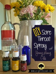 This sore throat spray is for real. Added 3 drops of Copaiba to the blend for inflammation.