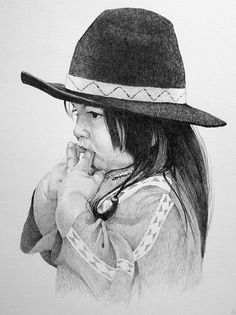 Moundville Pow-Wow art 07  Pencil drawing for festival poster