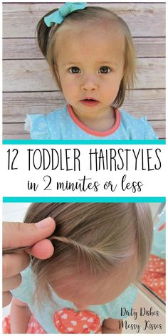 Someday when Cora has hair! 12 Toddler Hair Styles – Toddler girl hairstyles ideas that are easy, cute and fast. Someday when Cora has hair! 12 Toddler Hair Styles – Toddler girl hairstyles ideas that are easy, cute and fast. Easy Toddler Hairstyles, Baby Girl Hairstyles, Simple Hairstyles, Hairstyles 2016, Toddler Girl Haircuts, Easy Little Girl Hairstyles, Hairstyle Ideas, Wedding Hairstyles, Toddler Braids