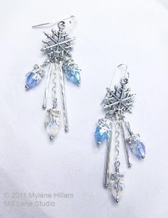 Mill Lane Studio: Twelve Days and Counting - Day 6 - Snowflakes and Icicles