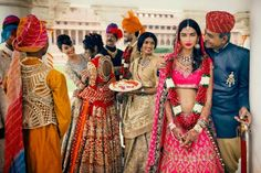 Cultural Wedding - amazing colours and beautiful Indian bride.