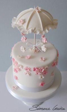 Cake with umbrella