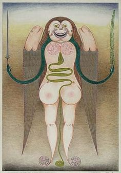 Friedrich Schröder Sonnenstern (Eine Art Kundalini-Schlange)
