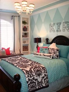 Tiffanys bedroom--I want this for my master bedroom