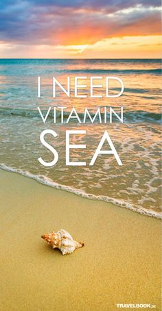Tips For Using Anti-Aging Products In Your - We need some Vitamin Sea! Can't wait to take our real swim-able mermaid tails to the beach and the the pool this summer. Who else is ready? Surf Mar, I Love The Beach, Belle Photo, Travel Quotes, Travel Posters, Me Quotes, Beach Quotes And Sayings, Beach Qoutes, Beach Life Quotes