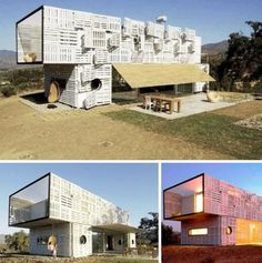 Palette and container homes. Cheap, sustainable and comfortable living