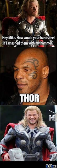 Oh My Freaking Stars!: Thor & Mike