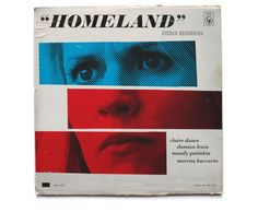 The main character CIA agent Carrie Mathison, who is played by Claire Danes, is an avid appreciator of jazz music. Designer and Homeland fan Ty Mattson used this as a staring point to create a series of vintage record covers inspired by the show.