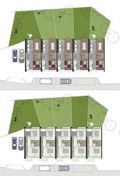 Architecture Garden Planner Online Ideas Inspirations Room Layout Housing Layout Where to place the stairs Floor plans for a terraced house B Home Layout Design, Small Room Design, Family Room Design, Home Design Plans, House Design, Stairs Floor Plan, Flooring For Stairs, House Stairs, House Floor Plans