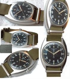OLD VINTAGE WRISTWATCH BY HAMILTON MILITARY IN VERY NICE CONDITION 1975s  REF: G041 £275  Much sought after vintage Hamilon military wristwatch, circa1970s.