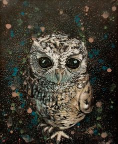 Eyes of Knowledge  40/50 cm Technique: acrylic on canvas #kunst #owl #eyesofknowledge #astral #cristiferkel #astralbody #eyes #brownowl #oilpainting #art #filling #dripingart #deep #deeper #zeusowl #zeus #betweenworlds #focus #astraleplane #contemporaryart #modernart #homedecor #universeyes #homedecoration #subtleenergy #galaxy #advancedsouls #awakened Contemporary Artists, Modern Art, Astral Plane, Action Painting, Colorful Furniture, My Works, Knowledge, Deep, Mood