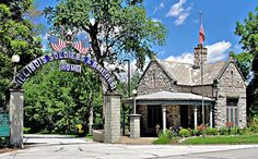 Illinois Veterans Home Entrance