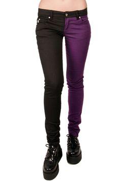#Tripp NYC Split Leg #Jeans - TrashandVaudeville.com. $64.00