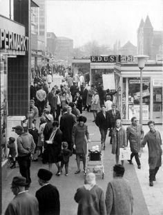 1968 Hamburg - Altona, Große Bergstraße ☺