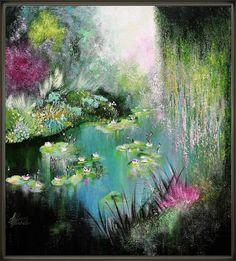 Egidio Antonaccio Gateway To Spring Gallery Wrapped Canvas 18X24