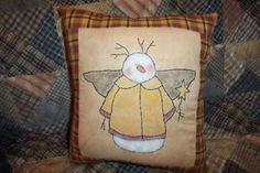 Life's a Stitch Show And Tell, Snowman, Stamp, Throw Pillows, Stitch, Sewing, Plum, Punch, Fabric