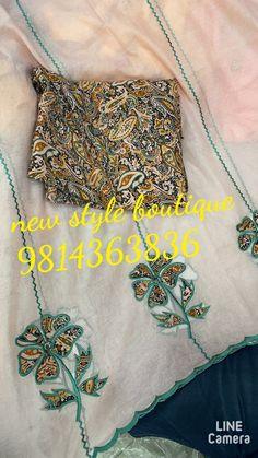 Punjabi Dress Design, Designer Punjabi Suits Patiala, Punjabi Suits Designer Boutique, Indian Embroidery Designs, Etsy Embroidery, Embroidery Boutique, Machine Embroidery, Embroidery Suits Punjabi, Embroidery On Kurtis