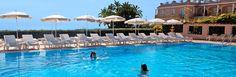 The pool at Hotel Luna on Capri