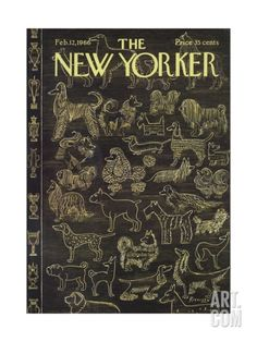 The New Yorker Cover - February 12, 1966 Regular Giclee Print by Anatol Kovarsky at Art.com