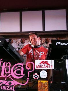 Playing at Itaca, Ibiza 2011