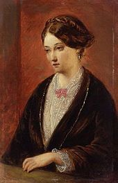 Portrait of Florence Nightingale - by Augustus Leopold Egg Florence Nightingale, Trojan War, Art Through The Ages, Crimean War, Shades Of Beige, Gilded Age, Art Uk, Female Art, Female Portrait