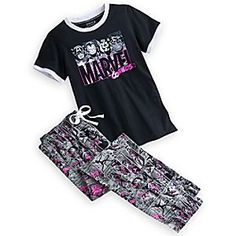 Lazy Day Outfits, Cool Outfits, Marvel Pajamas, Marvel Clothes, Marvel Shoes, Marvel Fashion, Disney Outfits, Disney Clothes, Sleep Set