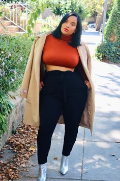 Image uploaded by Find images and videos about girl, fashion and photography on We Heart It - the app to get lost in what you love. Thick Girls Outfits, Curvy Girl Outfits, Plus Size Outfits, Look Plus Size, Plus Size Model, Look Girl, Plus Size Fashion For Women, Curvy Women Fashion, Fashion Outfits