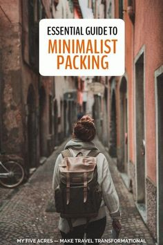 Want to learn how to pack like a travel pro? Need guidance on the best travel gear to take on any trip? Our minimalist packing guide will give you the tools you need for perfect packing for any destination. #travel #packing #packingtips #minimalism #minimalisttravel #transform #myfiveacres Carry On Packing, Suitcase Packing, Packing Tips For Travel, Travel Essentials, Packing Lists, Packing Hacks, Solo Travel, Travel Pro, Mens Travel