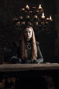 Sansa Stark, Sophie Turner game of thrones season 7 Arte Game Of Thrones, Game Of Thrones Sansa, Game Of Thrones Facts, Game Of Thrones Costumes, Game Of Thrones Shirts, Game Of Thrones Funny, Sophie Turner, Winter Is Here, Winter Is Coming