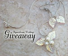 Winter Woodland Jewelry #Giveaway by Thyme2dream Weddings deadline is 11:59pm EST on December 30, 2013.